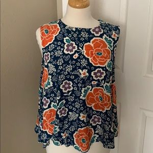 Flowy flowery top. Old navy brand. Size Med.